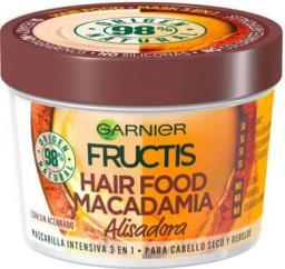 Garnier Fructis Hair Food Macadamia wygładzająca maska do włosów suchych i niezdyscyplinowanych 390ml