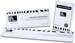 Zebra ZXP Series 8 cleaning cards - 105999-801