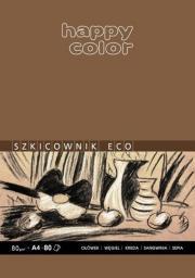 Blok biurowy GDD szkicowy ECO A4 80K 80g Happy Color