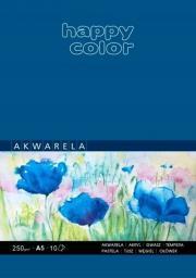 Blok biurowy GDD akwarelowy ART A5/10K 250g Happy Color