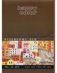 Blok biurowy GDD rysunkowy ECO A4/25K 150g Happy Color