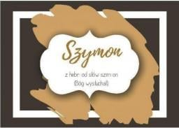 Szaron Magnes Imiona - Szymon
