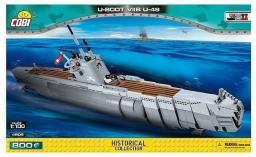 Cobi Small Army Okręt podwodny U-boot VIIB U-48 800 (COBI-4805)
