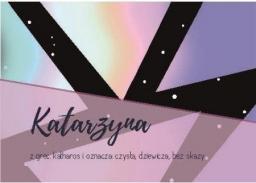 Szaron Magnes Imiona - Katarzyna