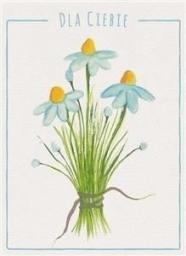 HENRY Karnet B6 Kwiaty akwarela. Stokrotka