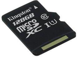 Karta MicroSD Kingston Canvas Select 80R microSDXC 128GB CL10 UHS-I (SDCS/128GBSP)
