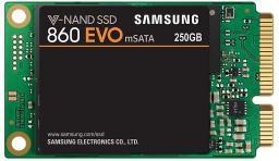 Dysk SSD Samsung 860 EVO 250 GB mSATA Micro SATA (MZ-M6E250BW)