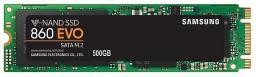 Dysk SSD Samsung 860 EVO 500 GB M.2 2280 SATA III (MZ-N6E500BW)