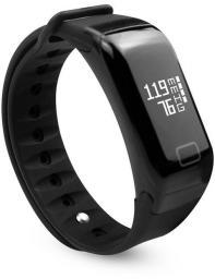 Smartband Media-Tech ACTIVE-BAND PRO z pomiarem ciśnienia krwi, BT4.1, czujnik tętna, (MT854)