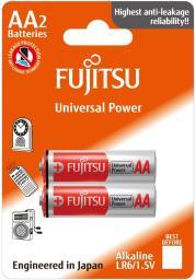 Fujitsu Baterie Alkaliczne LR6 AA 2 szt. (LR6(2B) FU)