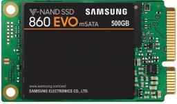 Dysk SSD Samsung 860 EVO 500 GB mSATA Micro SATA (MZ-M6E500BW)