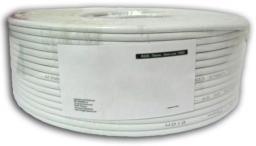 Techly Kabel instalacyjny skrętka U/UTP Cat6 4x2 linka CCA 100m szary (022564)
