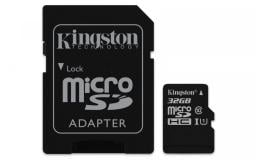 Karta MicroSD Kingston Canvas Select 80R microSDHC 32GB + adapter (SDCS/32GB)