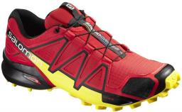 Salomon Buty męskie Speedcross 4 czerwono-żółte r. 42 (381154)