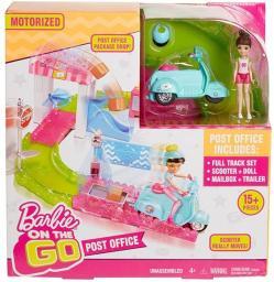 Mattel  Barbie ON THE GO Poczta + Lalka FHV85