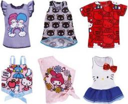 Mattel BARBIE Ubranka z ulubieńcami Topy (FLP40)