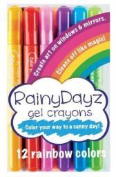 Kolorowe Baloniki Kredki Na Deszczowe Dni (268446)