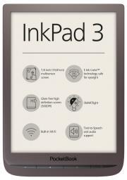 Czytnik PocketBook InkPad 3 ciemny brąz (PB740-X-WW) (7640152094767)