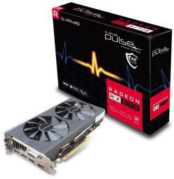 Karta graficzna Sapphire Radeon RX 570 Pulse 8GB GDDR5 GDDR5 (256 bit) DVI-D, 2xHDMI, 2xDP (11266-36-20G)