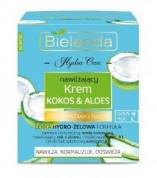 Bielenda Krem nawilżający Hydra Care Kokos Aloes
