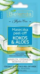 Bielenda Hydra Care Maseczka peel-off  Kokos&Aloes 5g