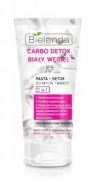 Bielenda Carbo Detox Biały Węgiel™ Pasta Detox do mycia twarzy 3w1 150g
