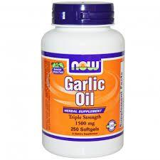 NOW Garlic Oil 1500mg 250 softgels