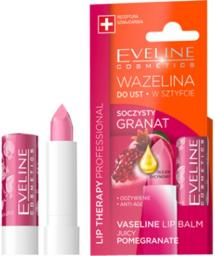 Eveline Lip Therapy wazelina do ust wsztyfcie Granat 3.8g
