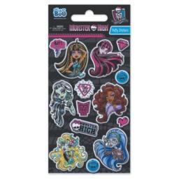 Sticker BOO Naklejka Puffy Monster High