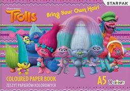 Starpak Papier Kolorowy A5/10k Trolls