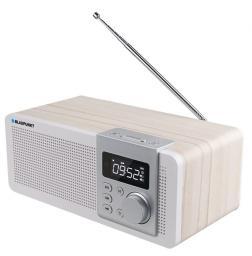 Radio Blaupunkt przenośne FM PLL SD|USB|AUX|ZEGAR|ALARM| z akumulatorem (PP14BT)