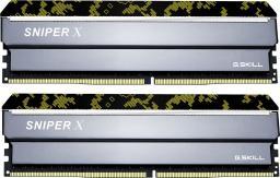 Pamięć G.Skill Sniper X, DDR4, 16 GB,3000MHz, CL16 (F4-3000C16D-16GSXKB)