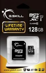 Karta G.Skill MicroSDXC 128GB UHS-I + adapter (FF-TSDXC128GA-U1)
