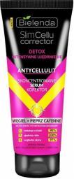 Bielenda Slim Cellu Corrector Detox Skoncentrowane Serum Korektor Węgiel+Pieprz Cayenne  250ml