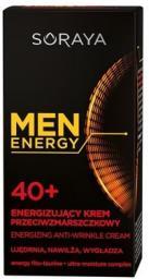 Soraya Men Energy 40+ Energizujący krem przeciwzmarszczkowy  50ml