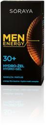 Soraya Men Energy 30+ Hydro - Żel nawilżająco matujący  50ml
