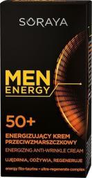 Soraya Men Energy 50+ Energizujący krem przeciwzmarszczkowy  50ml