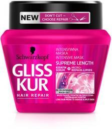 Schwarzkopf Gliss Kur Supreme Length Maska do włosów 300ml