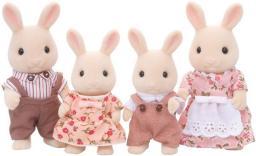 Figurka Epoch Sylvanian Families - Rodzina biszkoptowych królików (4108)
