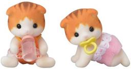 Figurka Epoch Sylvanian Families - Bliźniaki rudych kotków (5292)