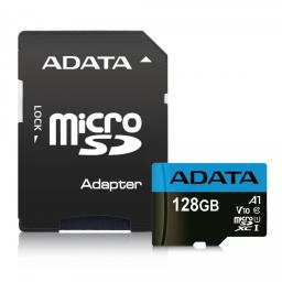 Karta ADATA MicroSDXC Premier 128GB UHS-I Class 10 (AUSDX128GUICL10A1-RA1)