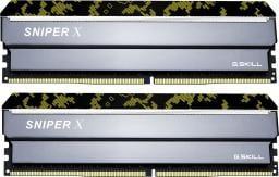 Pamięć G.Skill Sniper X, DDR4, 16 GB,2400MHz, CL17 (F4-2400C17D-16GSXK)