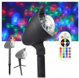 X4-Tech Reflektor dyskotekowy, imprezowy LED RGB + W (701593)