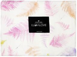 LullaLove Otulacz 100% Bambus, Paprocie Róż (LLV00614)