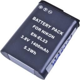 Akumulator Avacom zamiennik  EN-EL23,  Li-ion,  3.8V,  1400mAh,  5.3Wh  (DINI-EL23-383)