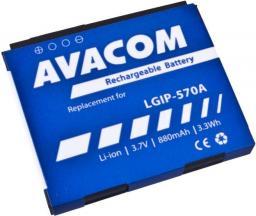 Bateria Avacom do telefonu komórkowego LG KP500 Li-Ion 3,7V 880mAh (GSLG-KP500-S880A)