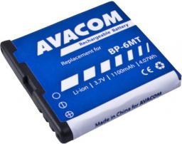 Bateria Avacom  do telefonu komórkowego Nokia E51, N81, N81 8GB, N82, Li-Ion 3,6V 1100mAh (GSNO-BP6MT-S1100A)