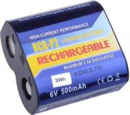 Akumulator Avacom zamiennik,  CR-P2, DL223A,  Li-Fe,  6V,  500mAh,  3Wh (DICR-223-03B)