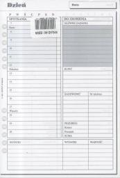 Antra Wkład do organizera A5 Dzień (270054)