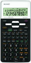 Kalkulator Sharp EL-W531TH biały  (SH-ELW531THWH)